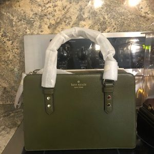 Kate Spade olive green purse/crossbody NWT